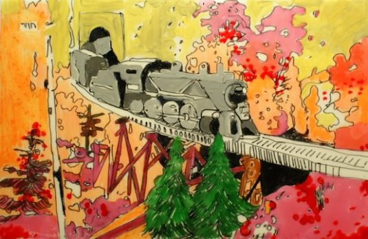 Toy Train by Jeanne Mischo